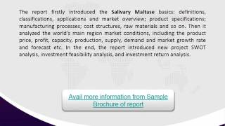 2021 Competitor Analysis & Market Trends for Global Salivary Maltase Market 2017