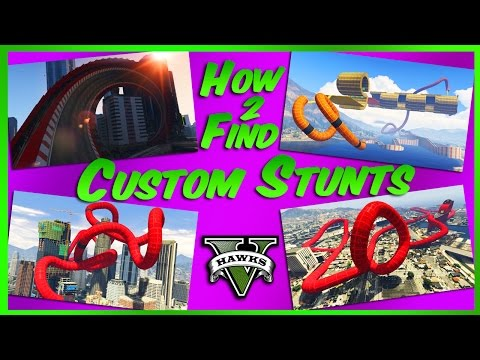 GTA Online How to Find and Play Custom Stunt Races (How to Bookmark Custom Cunning Stunts Races)