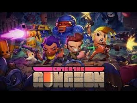 Trying a new game - Enter the Gungeon |