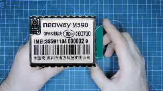 GSM/GPRS модем Neoway M590(Пример использования и документация: http://www.avislab.com/blog/neoway-m590_ru/, 2015-10-30T07:40:11.000Z)