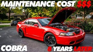 Cobra Maintenance Cost After 8 Years
