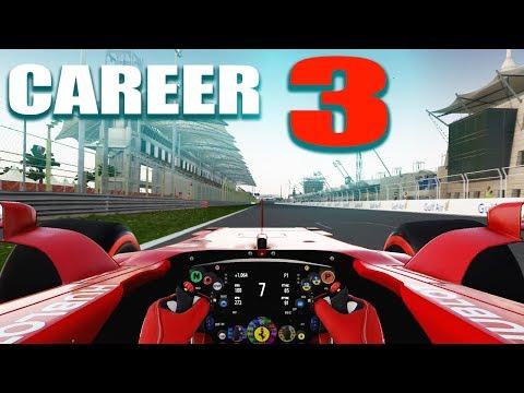 F1 2017 Career Gameplay: Bahrain Day Race (3)