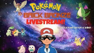 Roblox livestream Let's hit today's goal!! #47 Pokemon brick bronze! :D #1000subscribersgoal HD