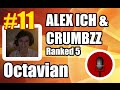 [FREE MIC #11] Alex Ich & Crumbzz new team Ranked 5 | cast by Octavian | Patch 5.4