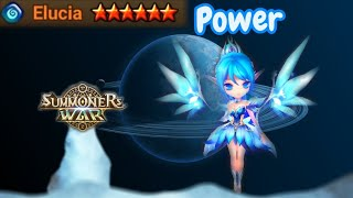 The Power of Awakened Elucia (Water Fairy) - Summoners War