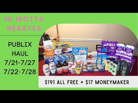Publix Couponing 7/21-7/28 | $191 for FREE + Moneymaker| Great Deals| Ibotta & Fetch 🔥💃🏻