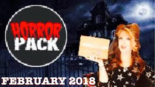 Horror Pack Unboxing February 2018 Horror Movies Blu-Ray Edition
