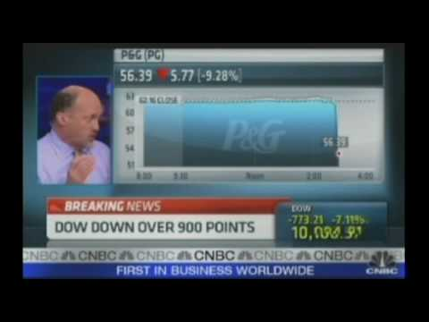 FLASH CRASH!  Dow Jones drops 560 points in 4 Minutes!  May 6th 2010