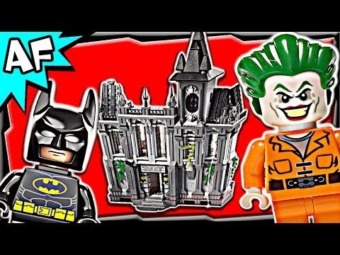 Lego Batman ARKHAM ASYLUM Breakout 10937 DC Comics Super Heroes Build Review