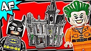 Batman ARKHAM ASYLUM Breakout 10937 Lego DC Comics Super Heroes Build Review