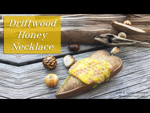 Driftwood Honey Necklace-Jewelry Design Tutorial thumbnail