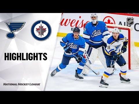 NHL Highlights   Blues @ Jets 2/1/20