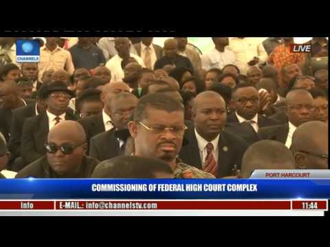 Commissioning Of Federal High Court Complex Pt. 7 -- Ibrahim Auta