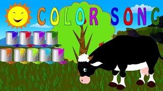 Colori canzone | colori magre per i bambini | bambini canzoni | Learn colors | Colors Song