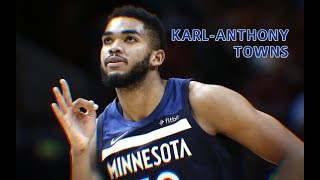 "Karl Anthony Towns - (Ft. Nipsey Hussle ""Racks in the middle"") 2019"