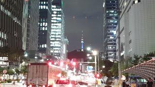 서울 종로의 밤