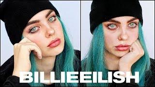 BILLIE EILISH Makeup Transformation   THE BOY BEAT