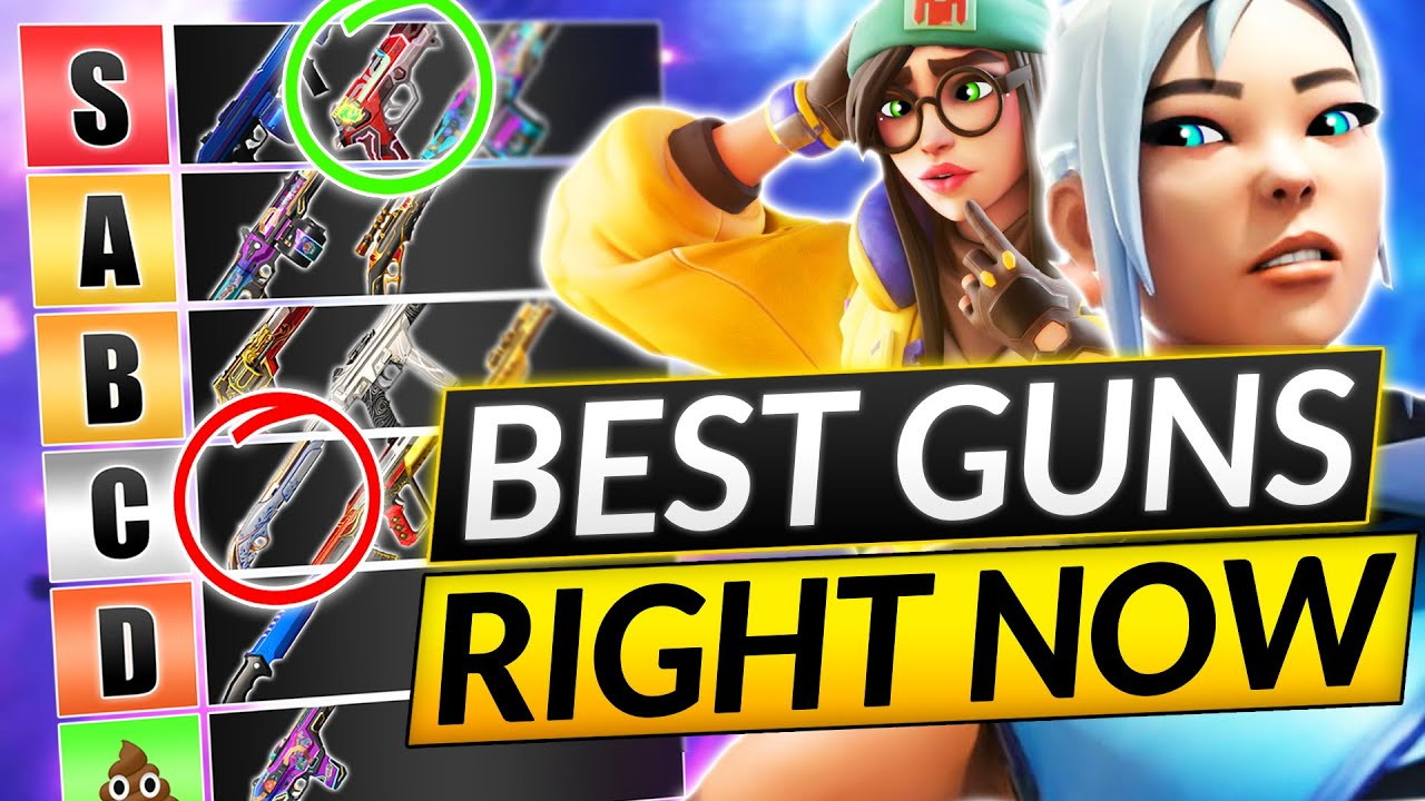 Download NEW UPDATED GUNS Tier List - Ranking EVERY Weapon BEST to WORST - Valorant Guide