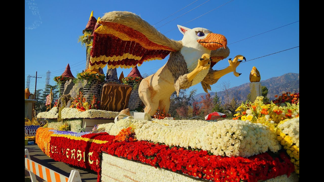 Rose Parade Floats >> 2015 Tournament of Roses Post Parade Showcase of Floats - YouTube