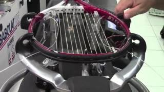 The Parnell Loop for Stringing Tennis Rackets with 4 knots