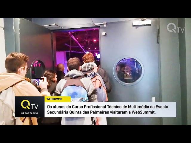 Escola Quinta das Palmeiras no WebSummit 2018