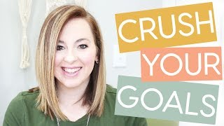 🔴How to Set Goals and ACTUALLY ACHIEVE THEM.