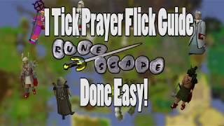 A Quick 1 Tick Pray Flicking Guide on OSRS