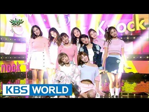 TWICE (트와이스) - Knock Knock [Music Bank / 2017.03.17]