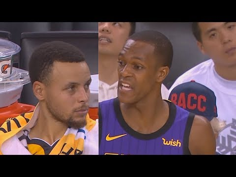 Rajon Rondo Ruins Stephen Curry & Warriors' Christmas After Taking Over For LeBron James!