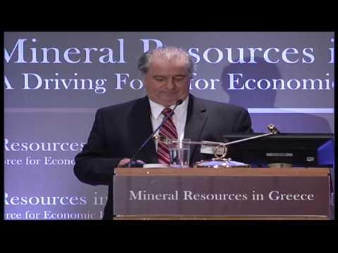 3rd International Forum Mineral Resources in Greece (CSR Expert & Kittila Former Mayor)