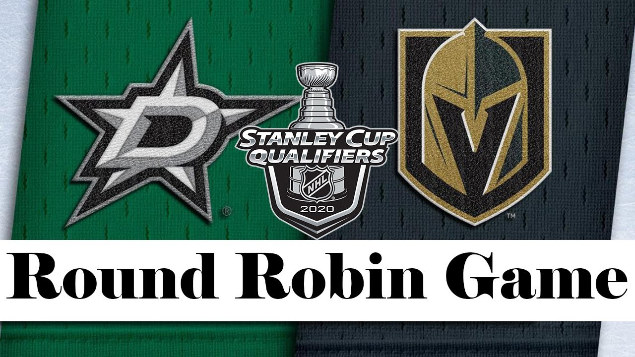 Dallas Stars vs Vegas Golden Knights | Aug.03, 2020 | Round Robin Game | NHL 2019/20 | Обзор матча M