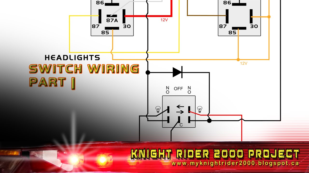 Head And Parking Lights Switch Wiring Part 01  YouTube