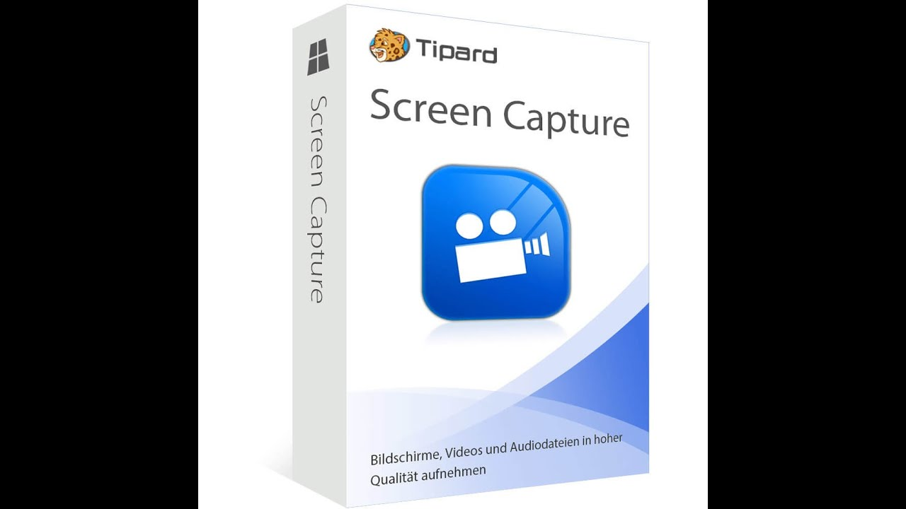 Tipard Screen Capture – Phần Mềm Quay Phim Màn Hình