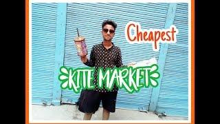 Cheapest kite market in delhi | Lal Kuan | | Chawdi bazar |