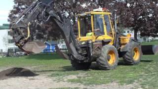 Hymas 9000 traktorgrävare