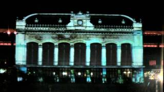 video mapping eiffel park budapest