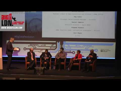 Big Data LDN 2016: GDPR & PRIVACY Debate