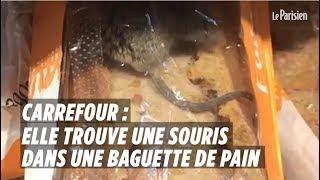 Carrefour : elle trouve une souris vivante dans sa baguette