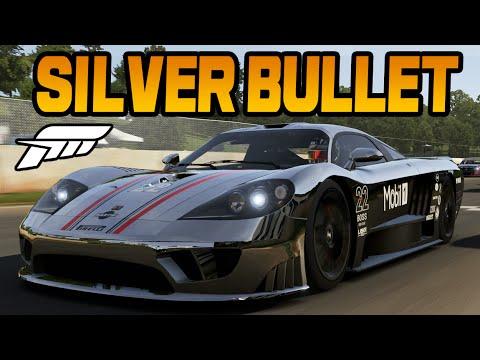 Forza 6 SILVER BULLET BUILD   (S Class Saleen Race Build)