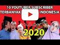 - 10 Youtuber Paling Banyak Subscriber Indonesia 2020 UPDATED Penghasilan Milyaran