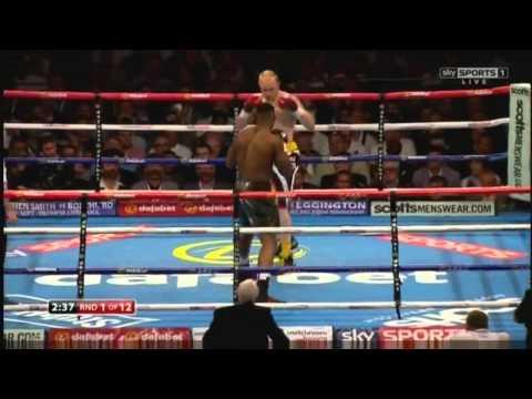 Anthony Joshua vs Gary Cornish KO Round 1