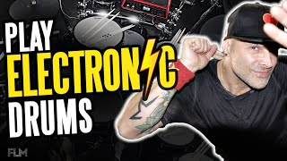Electronic Drums Tutorial | Electronic Drums For Beginners (Roland V Drums)