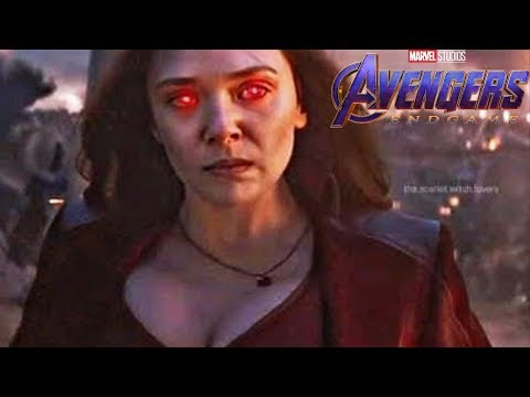 Marvel CONFIRMS Why Scarlet Witch Is WAY MORE Powerful After Avengers Endgame