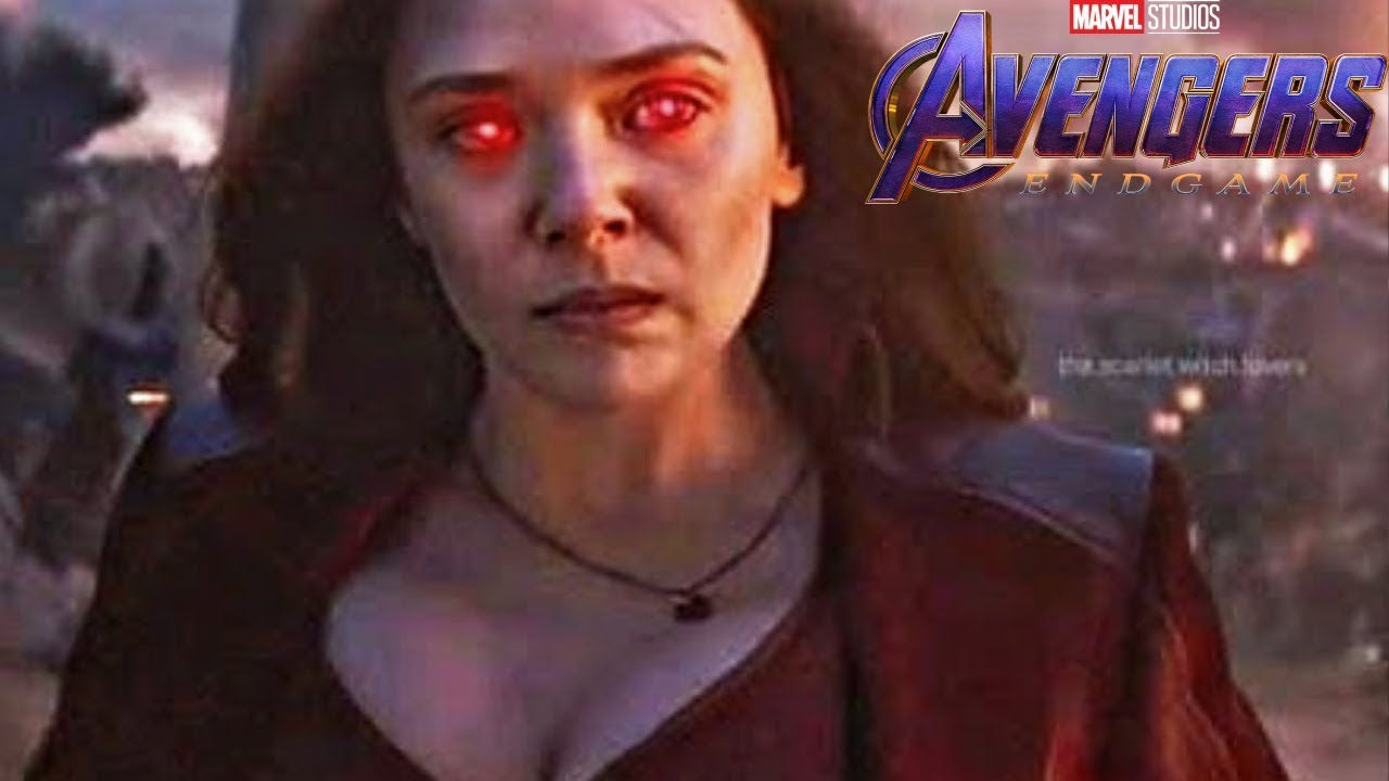 Download Marvel CONFIRMS Why Scarlet Witch Is WAY MORE Powerful After Avengers Endgame