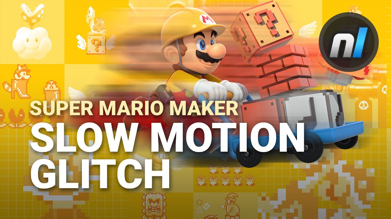 Video: See How Super Mario Maker's Slow Motion Glitch Works