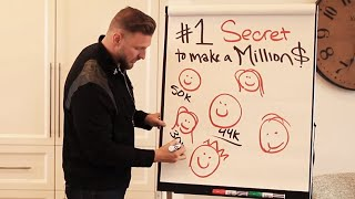 #1 Secret To Make Over $1Million In A Year