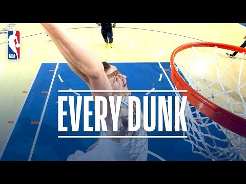 Andrew Wiggins, Kristaps Porzingis, Anthony Davis and Every Dunk From Monday Night | Oct. 30, 2017