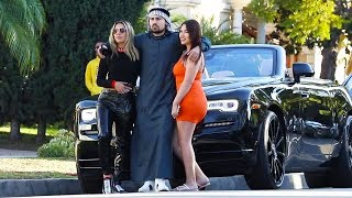 See what She did when She knew that he is a Rich Prince of Dubai! Part.  2