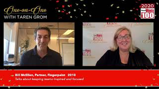 Bill McEllen, Fingerpaint – 2020 PharmaVOICE 100 Celebration
