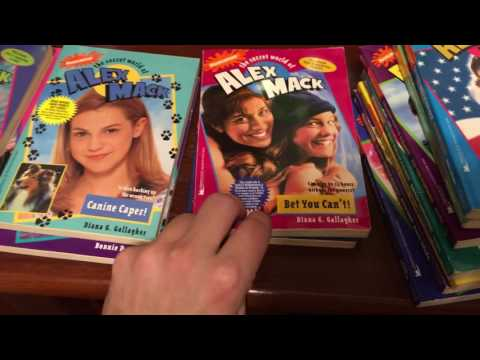 The Secret World Of Alex Mack Book Collection